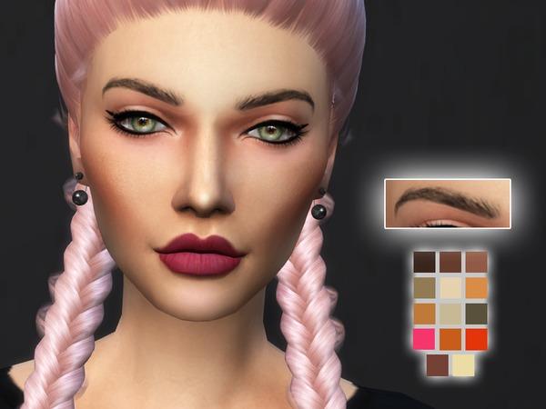 KM Eyebrows by Kitty.Meow at TSR image 2229 Sims 4 Updates