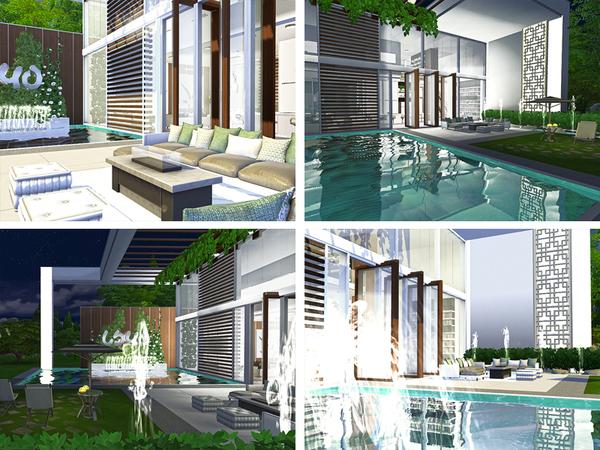 Sims 4 Jarrod house by Rirann at TSR