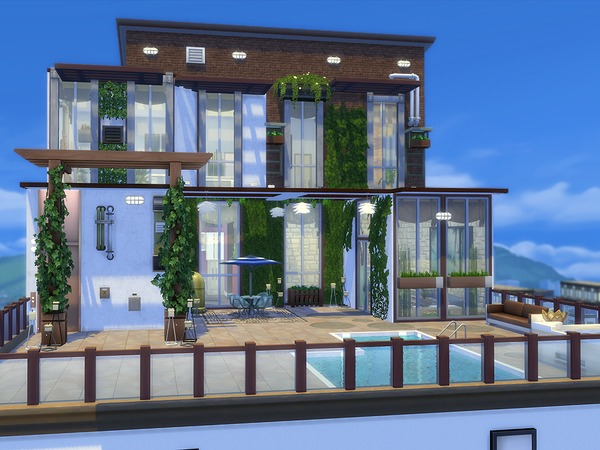 Willis Penthouse by Ineliz at TSR image 224 Sims 4 Updates