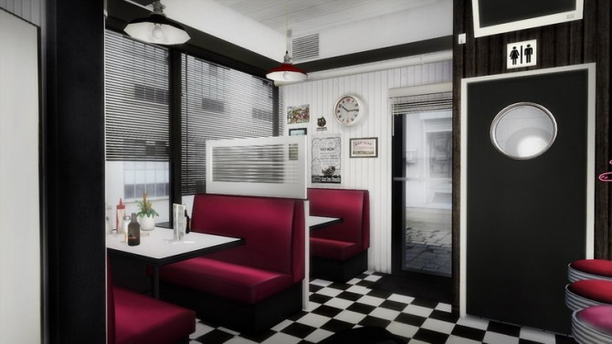 American Diner Part 2 at Daer0n – Sims 4 Designs image 2291 670x377 Sims 4 Updates