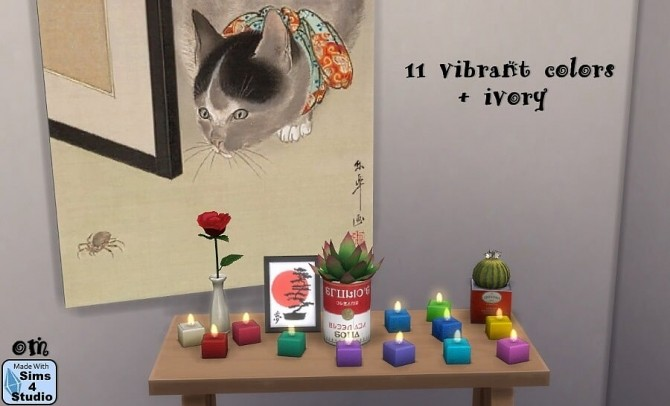 Mini tea candles with animated flame at Sims 4 Studio image 230 670x406 Sims 4 Updates