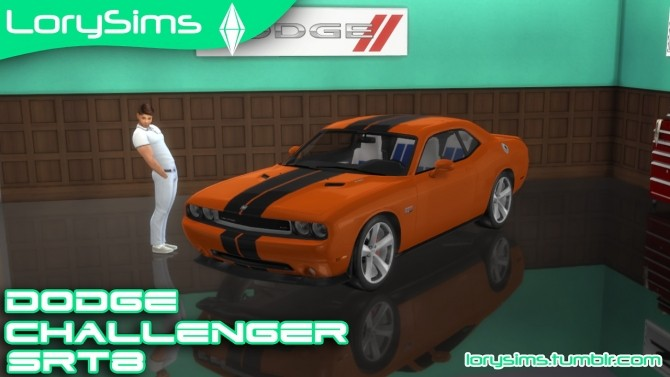 Dodge Challenger SRT8 at LorySims image 2363 670x377 Sims 4 Updates