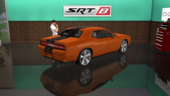 Dodge Challenger SRT8 at LorySims image 2374 670x377 Sims 4 Updates