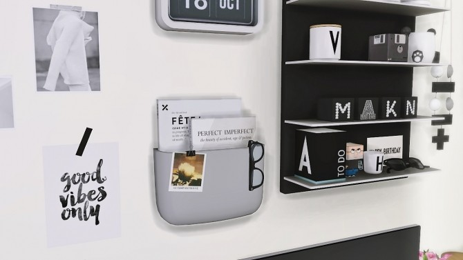 Sims 4 Design Letters and Friends at MXIMS