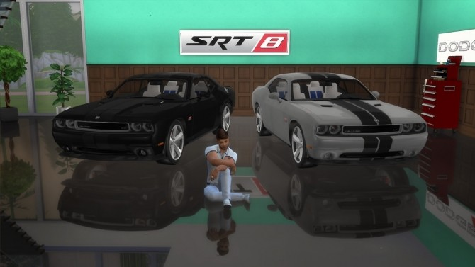Dodge Challenger SRT8 at LorySims image 2394 670x377 Sims 4 Updates