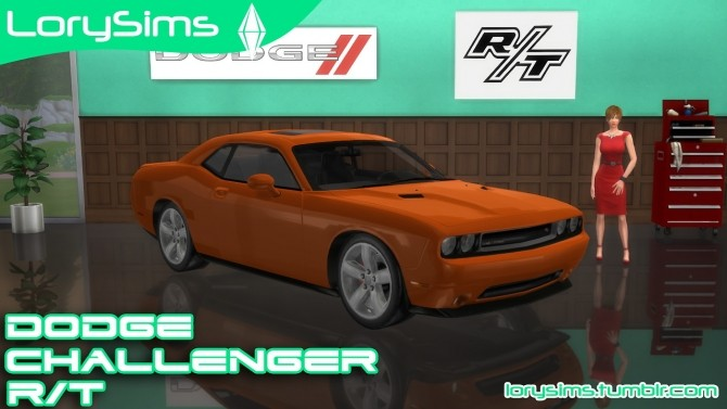 Dodge Challenger R/T at LorySims image 2404 670x377 Sims 4 Updates