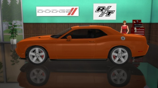 Dodge Challenger R/T at LorySims image 2417 670x377 Sims 4 Updates