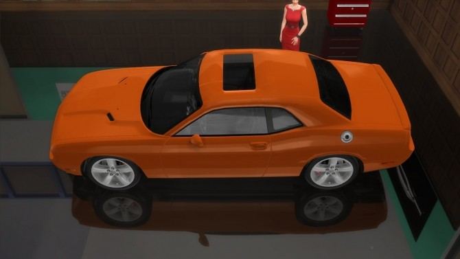 Dodge Challenger R/T at LorySims image 2424 670x377 Sims 4 Updates