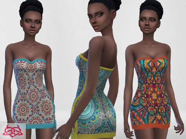 Mini dress 4 RECOLOR 3 by Colores Urbanos at TSR image 2428 Sims 4 Updates
