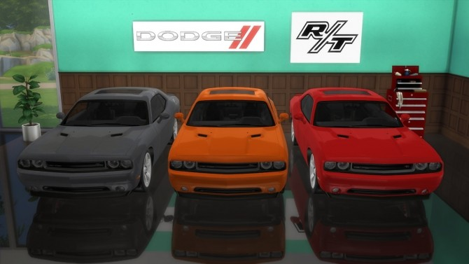 Dodge Challenger R/T at LorySims image 2434 670x377 Sims 4 Updates