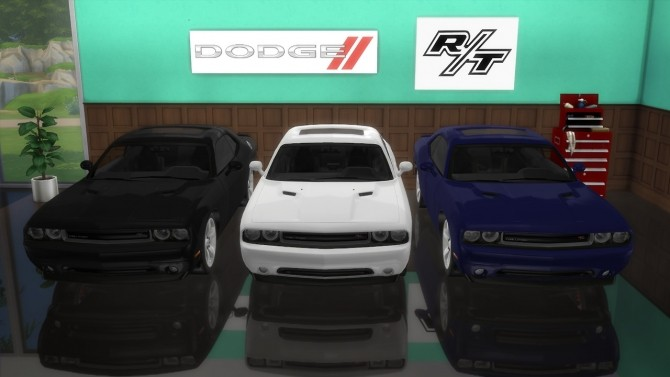Dodge Challenger R/T at LorySims image 2444 670x377 Sims 4 Updates