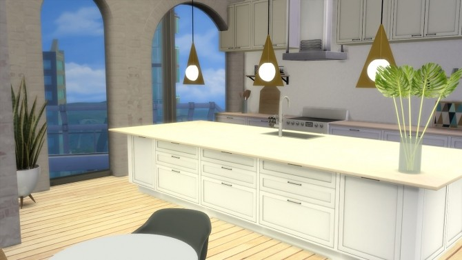 Plane Triangle Pendant at Meinkatz Creations image 2453 670x377 Sims 4 Updates