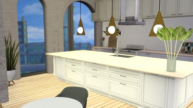 Sims 4 Plane Triangle Pendant at Meinkatz Creations