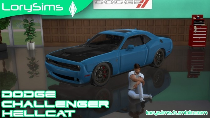 Dodge Challenger SRT Hellcat at LorySims image 2454 670x377 Sims 4 Updates