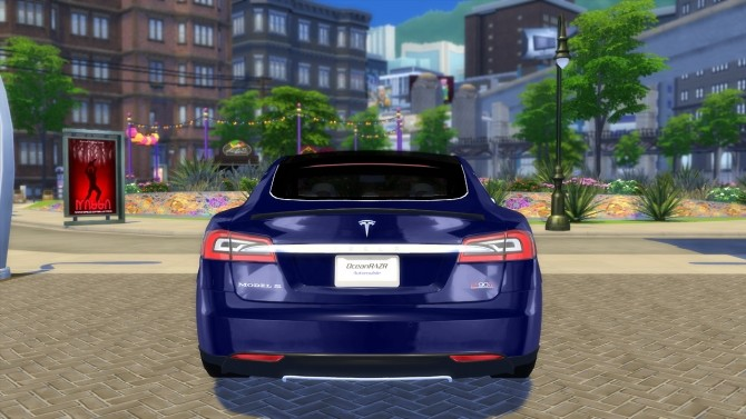 Tesla Model S P90D 2015 at OceanRAZR image 2455 670x377 Sims 4 Updates