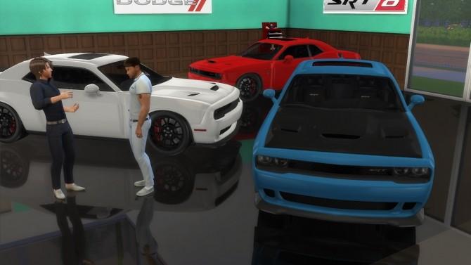 Dodge Challenger SRT Hellcat at LorySims image 2464 670x377 Sims 4 Updates