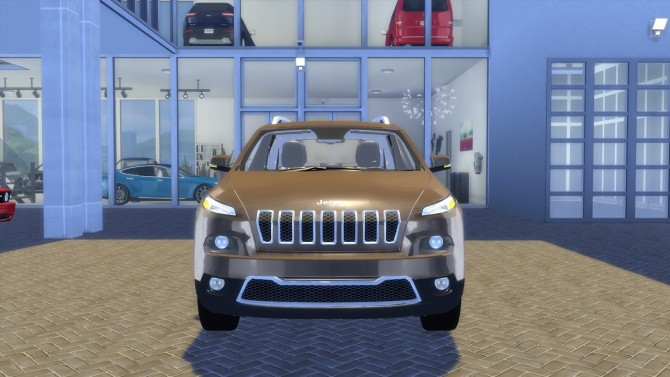 Jeep Cherokee Limited 2015 at OceanRAZR image 2485 670x377 Sims 4 Updates