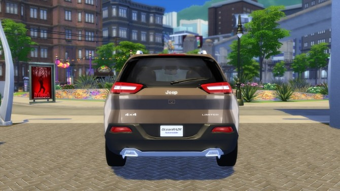 Jeep Cherokee Limited 2015 at OceanRAZR image 2494 670x377 Sims 4 Updates