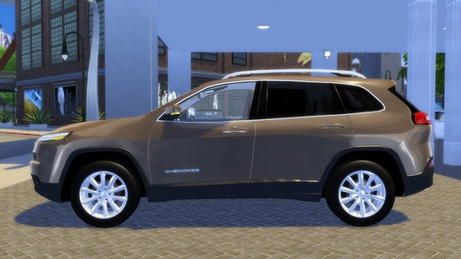Jeep Cherokee Limited 2015 at OceanRAZR image 2503 670x377 Sims 4 Updates