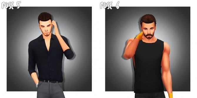 MALE POSE PACK 01 (CAS) at Wyatts Sims image 2515 670x335 Sims 4 Updates