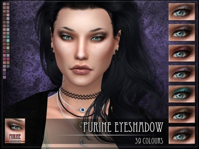 Sims 4 Purine Eyeshadow by RemusSirion at TSR