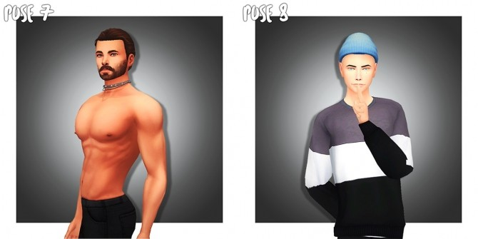 Sims 4 MALE POSE PACK 01 (CAS) at Wyatts Sims