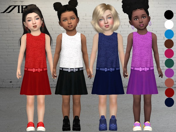 Sims 4 MP Toddler Summer Dress N2 by MartyP at TSR