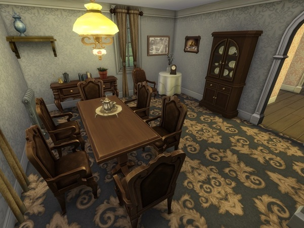 Green Gables house by galadrijella at TSR image 2627 Sims 4 Updates