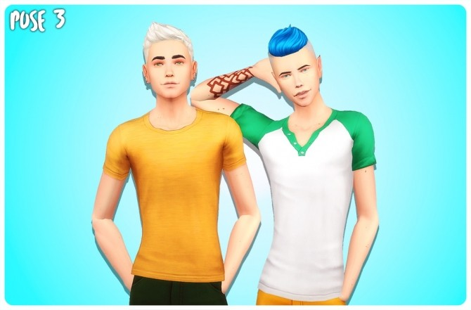 BEST FRIENDS POSE PACK at Wyatts Sims image 2653 670x441 Sims 4 Updates