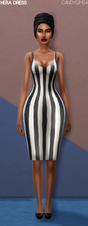Sims 4 HERA DRESS at Candy Sims 4