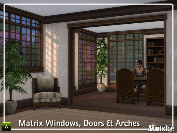 The Matrix Construction set by mutske at TSR image 27 Sims 4 Updates