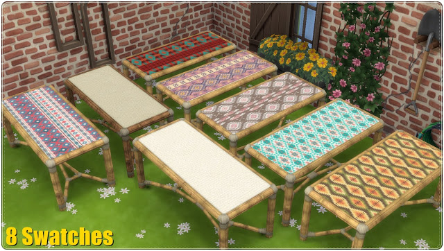Dining Set Tiki TS3 to TS4 Conversion at Annett's Sims 4 Welt image 2701 Sims 4 Updates