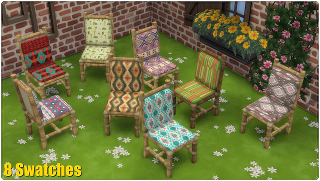 Dining Set Tiki TS3 to TS4 Conversion at Annett's Sims 4 Welt image 2713 Sims 4 Updates