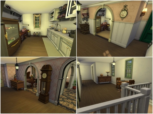 Green Gables house by galadrijella at TSR image 2724 Sims 4 Updates
