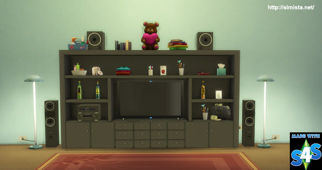 The Kahuna TV Cabinet at Simista image 2782 Sims 4 Updates