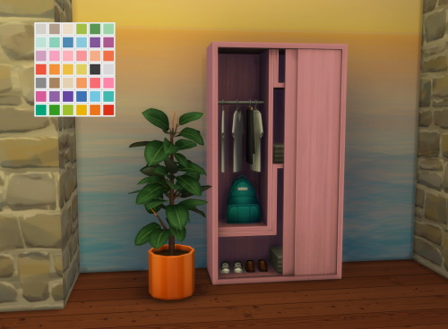 RC City Living Dresser at ChiLLis Sims image 2783 Sims 4 Updates