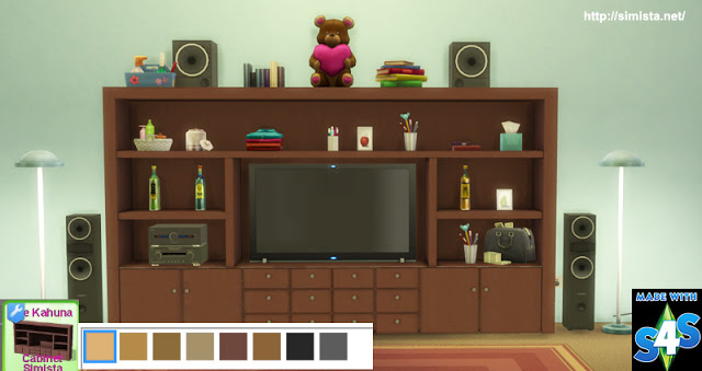 The Kahuna TV Cabinet at Simista image 2791 Sims 4 Updates