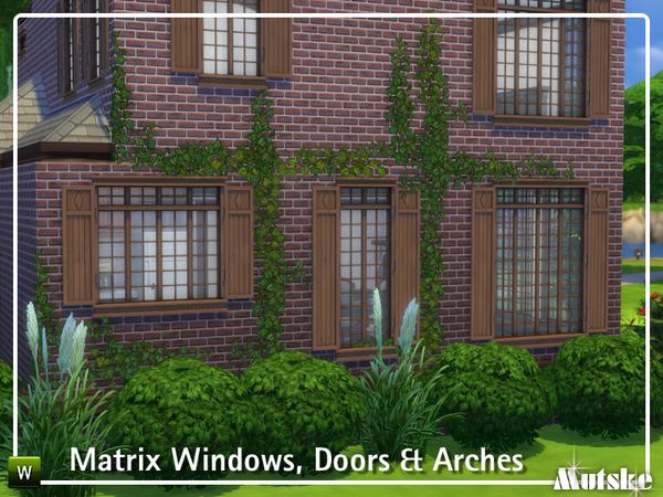 The Matrix Construction set by mutske at TSR image 28 Sims 4 Updates