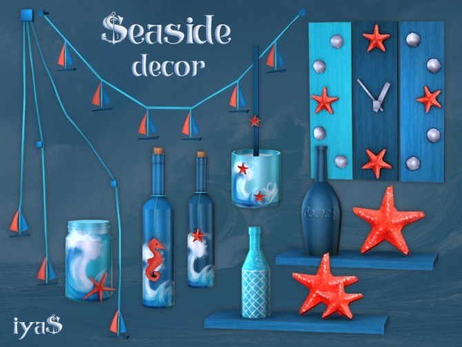 Seaside Decor at Soloriya image 2801 670x503 Sims 4 Updates