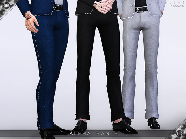 Sims 4 Alpha Pants by Pralinesims at TSR