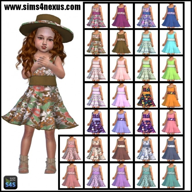 She's So Sassy dress + hat by SamanthaGump at Sims 4 Nexus image 2818 670x670 Sims 4 Updates