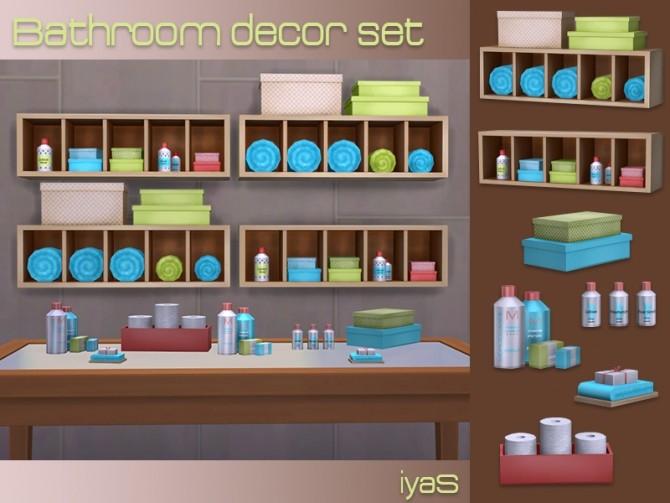 Bathroom Decor set at Soloriya image 2842 670x503 Sims 4 Updates