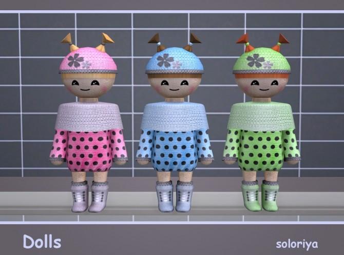 Dolls at Soloriya image 2861 670x497 Sims 4 Updates