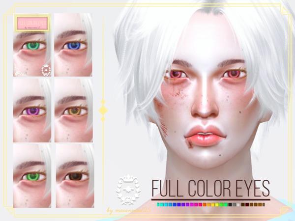 Sims 4 Full Color Eyes by masonmoo125 at TSR