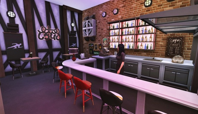 HOUSE 29 by Bangsain at My Sims House image 3051 670x386 Sims 4 Updates