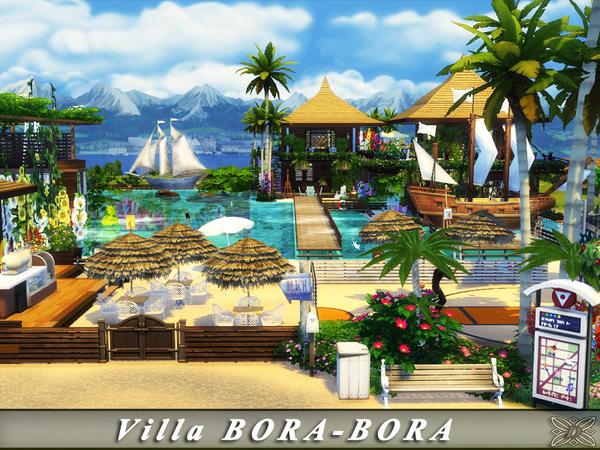 Villa BORA BORA by Danuta720 at TSR image 31 Sims 4 Updates