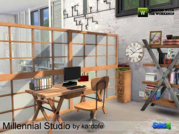 Millennial Studio by kardofe at TSR image 3114 Sims 4 Updates
