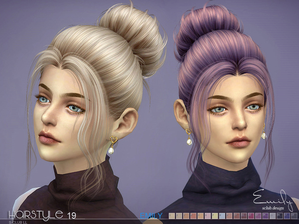 Emily n19 hair by S Club at TSR image 312 Sims 4 Updates