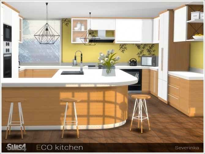 ECO kitchen at Sims by Severinka image 318 670x505 Sims 4 Updates