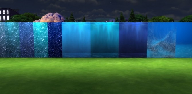 Under the Sea Part II: Underwater Walls, Murals and Floor by Snowhaze at Mod The Sims image 3211 670x327 Sims 4 Updates